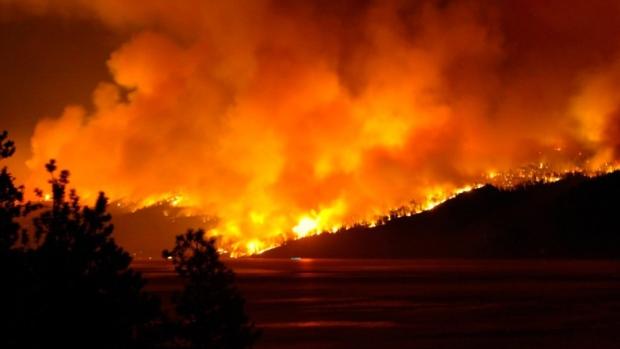 BC山林大火 全省进入紧急状态