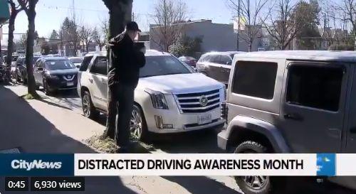 注意! 大温警察都藏在这抓你看手机 一个月开2100张罚单 司机竟被逼干这事