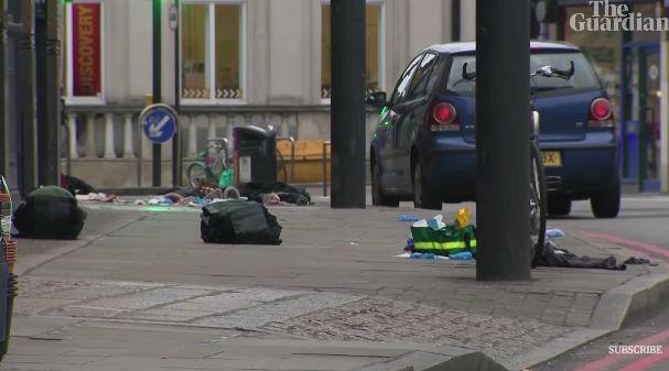 突发! 伦敦街头恐怖袭击 多人遭刀捅伤 嫌犯当场被毙