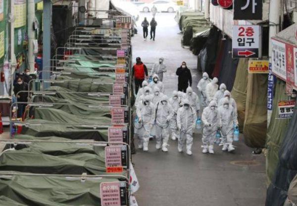 紧急! 韩国疫情爆发 一大批人涌向中国! 机票大涨 飞温哥华航班爆满