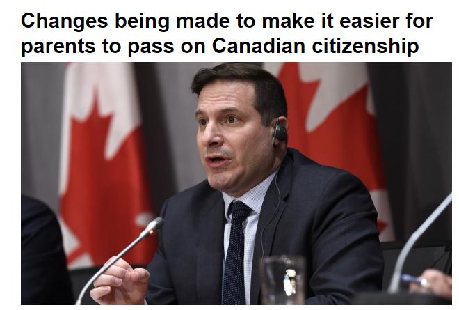 移民福利!同性婚姻家庭子女 海外出生也能继承加拿大国籍