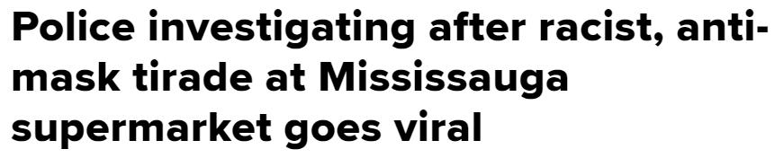 蠢! 白人男子带亚裔老婆逛大统华 歧视辱骂华人 遭特鲁多点名 火遍加拿大