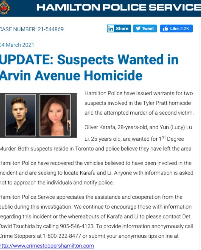 大温CEO被射杀! 警方通缉25岁华人女子 遇到马上报警 千万别靠近! 新闻 第6张