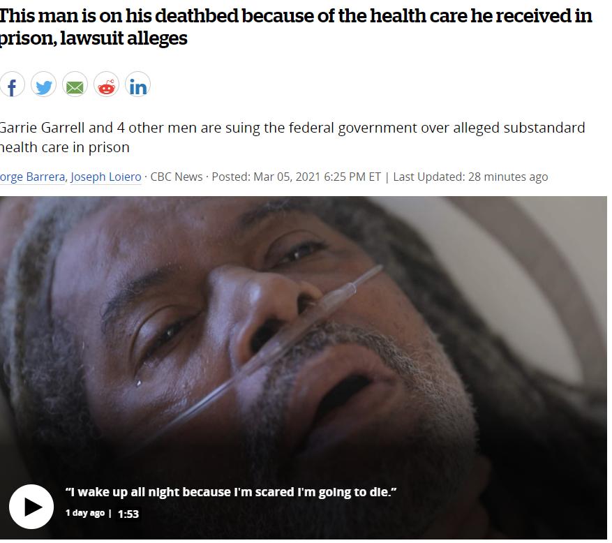 太惨! 加拿大男子求医被拒 被嘲笑还不给药 如今只剩几周可活! 新闻 第1张
